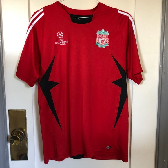brand new 27ee2 9f82c Liverpool Champions League Jersey